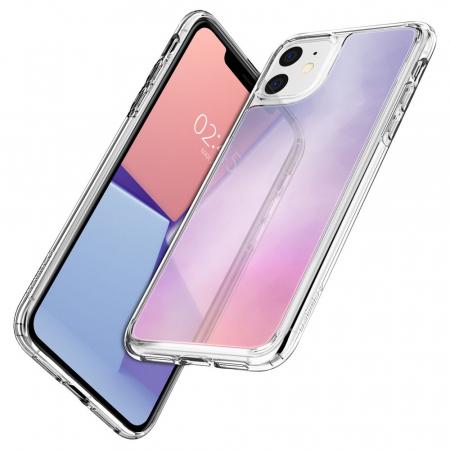 Husa Spigen Crystal Hybrid Quartz IPhone 11 Gradation [2]