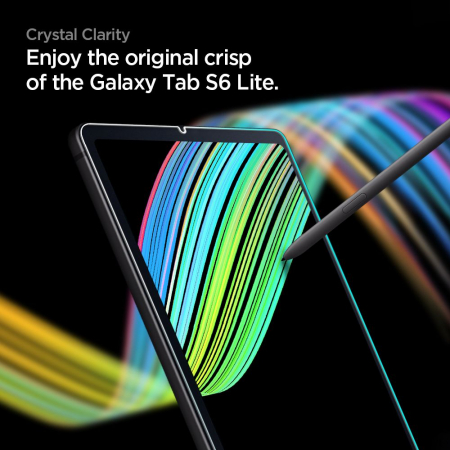 Folie sticla Spigen Glass Slim Samsung Galaxy Tab S6 Lite P610/P615 10.4 inch [3]