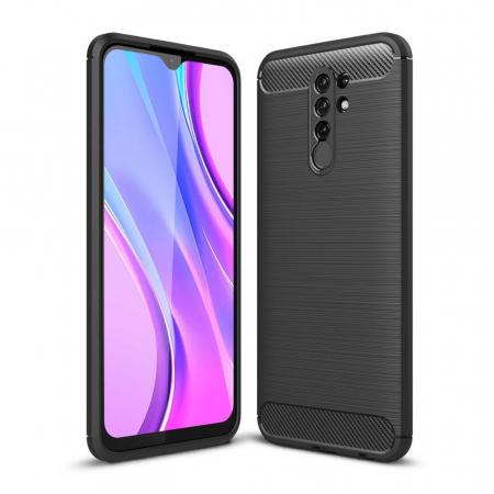 Husa Tech-Protect TPU carbon Xiaomi Redmi Note 9 [0]
