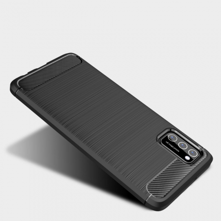 Husa Tech-Protect TPU carbon Samsung Galaxy A41 [1]