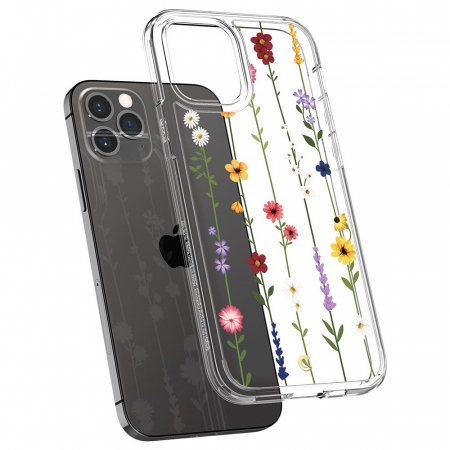Husa Spigen Ciel IPhone 12/12 Pro Flower Garden [1]