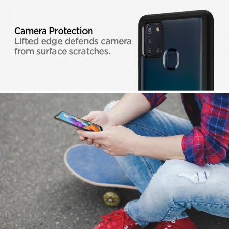 Husa Spigen Ultra Hybrid Samsung Galaxy A21s [6]