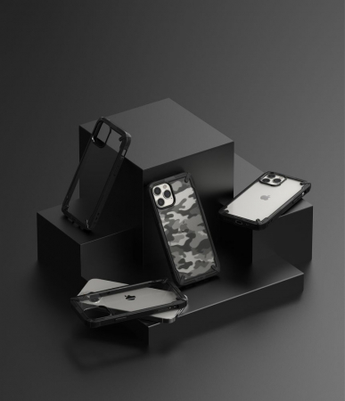 HUSA RINGKE FUSION X IPHONE 12/12 PRO CAMO BLACK3