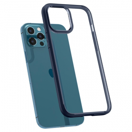Husa Spigen Ultra Hybrid IPhone 12 Pro Max albastru [3]