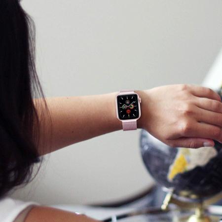 Curea otel inoxidabil Tech-Protect Milanese Apple Watch 42/44MM [1]