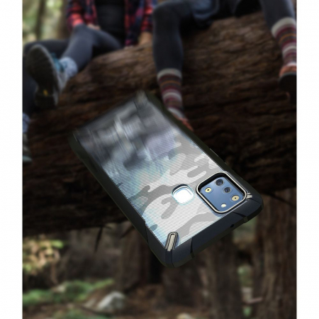 Husa Ringke Fusion X Samsung Galaxy A21s camo [5]