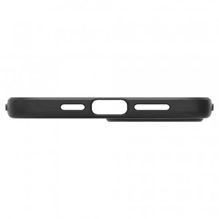 Carcasa Spigen Liquid Air iPhone 12 Pro Max Matte Black4