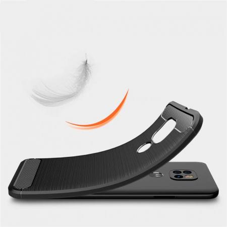 Husa Tech-Protect TPU Carbon Motorola Moto G9 Play/E7 Plus [4]