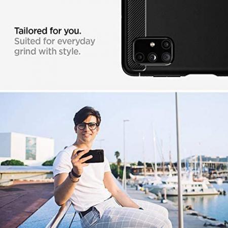 Husa Spigen Rugged Armor Samsung Galaxy M51 [5]