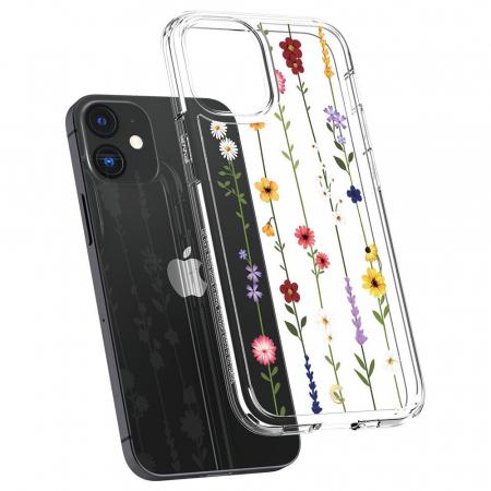 Husa Spigen Cecile IPhone 12 Mini Flower Garden [4]