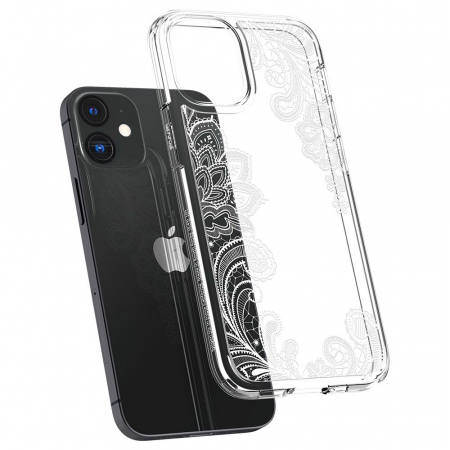 Carcasa Spigen Cecile iPhone 12 Mini White Mandala4