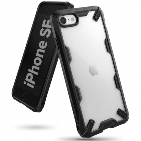 Carcasa Ringke Fusion X iPhone 7/8/SE (2020) Black0