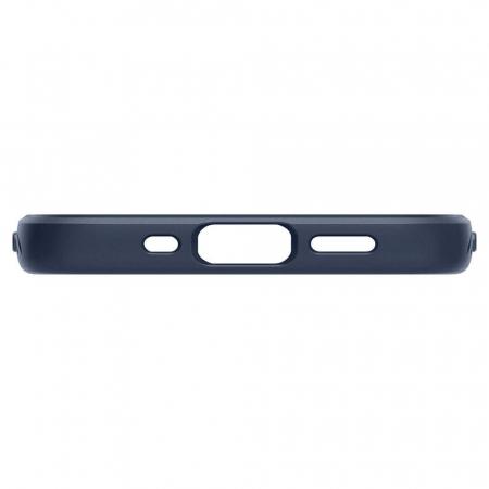 Carcasa Spigen Liquid Air iPhone 12 Mini Navy Blue4