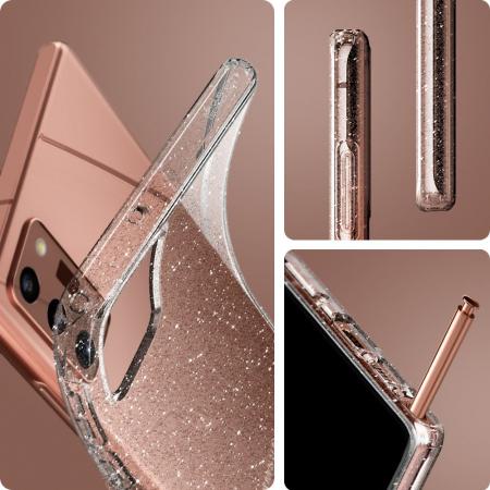 Husa Spigen Liquid Crystal Samsung Galaxy Note 20 Glitter [4]