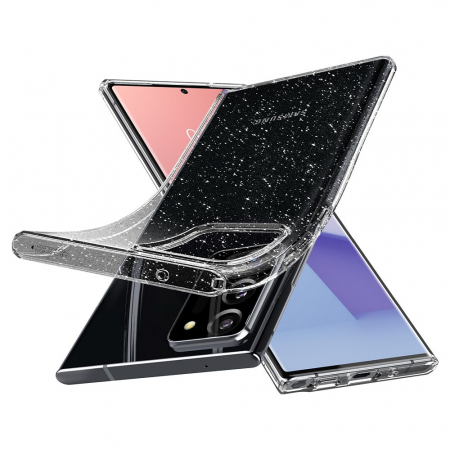 Carcasa Spigen Liquid Crystal Samsung Galaxy Note 20 Ultra Glitter Crystal4