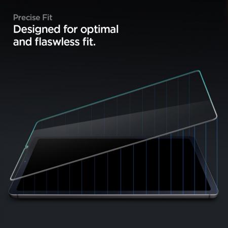 Folie sticla Spigen Glass Slim Samsung Galaxy Tab S6 Lite P610/P615 10.4 inch [5]