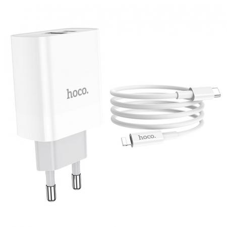 Incarcator retea Hoco C80A, USB/USB-C, Quick Charge 3.0, Power Delivery 20W [4]