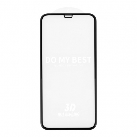 5D Mr. Monkey Glass - APP IPHO 11 Pro black (Hot Bending)0