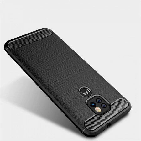 Husa Tech-Protect TPU Carbon Motorola Moto G9 Play/E7 Plus [5]