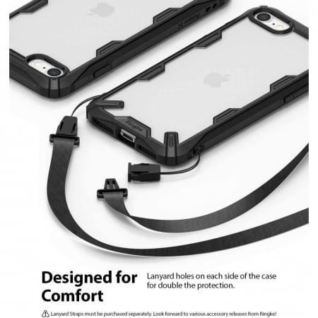 Carcasa Ringke Fusion X iPhone 7/8/SE (2020) Black1