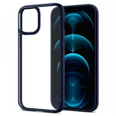 Husa Spigen Ultra Hybrid IPhone 12 Pro Max albastru [5]
