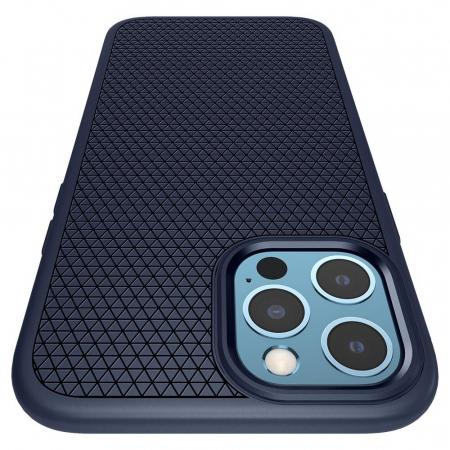Husa Spigen Liquid Air IPhone 12/12 Pro albastru [5]