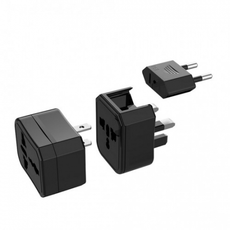 Adaptor Priza EU-UK-USA-AUS HOCO AC10