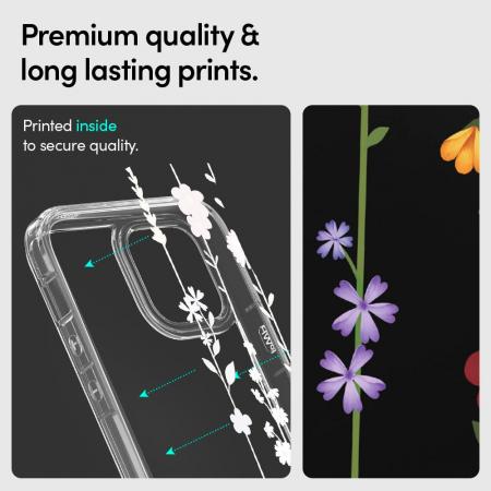 Husa Spigen Ciel IPhone 12/12 Pro Flower Garden [7]