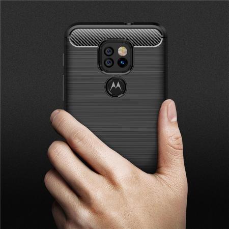 Husa Tech-Protect TPU Carbon Motorola Moto G9 Play/E7 Plus [6]