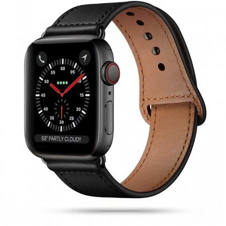 Bratara Tech-Protect Leatherfit Apple Watch 42/44mm [0]