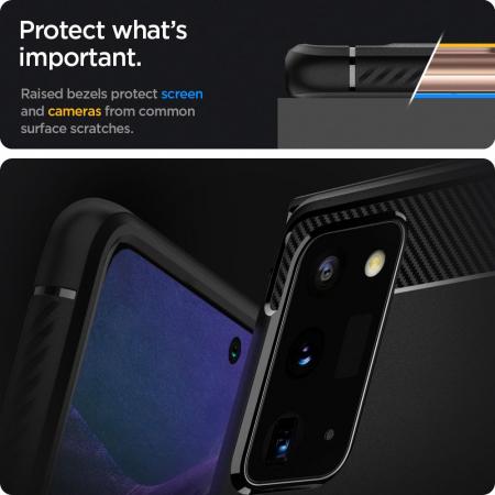 Husa Spigen Rugged Armor Samsung Galaxy Note 20 [6]