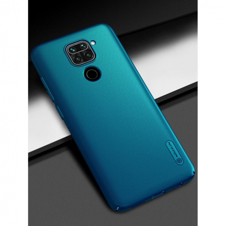 Husa Nillkin Frosted Xiaomi Redmi Note 9 albastru [1]