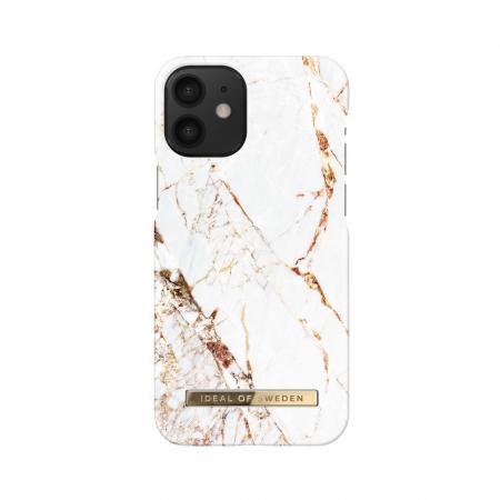 Husa Ideal Of Sweden IPhone 12 Mini Carrara Gold0