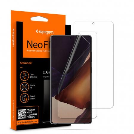 Folie Spigen Neo Flex HD Samsung Galaxy Note20 2 bucxset