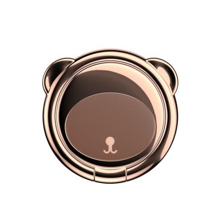 Suport telefon Inel Baseus Bear Finger Grip Stand Maro6