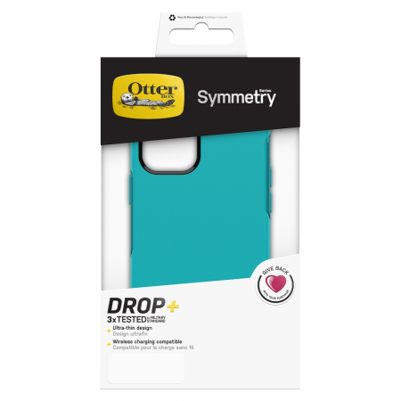 Husa Otterbox Symmetry IPhone 12/12 Pro Rocky Candy Blue4