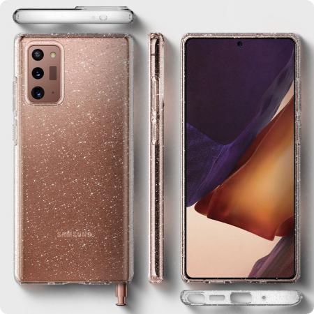 Husa Spigen Liquid Crystal Samsung Galaxy Note 20 Glitter [5]