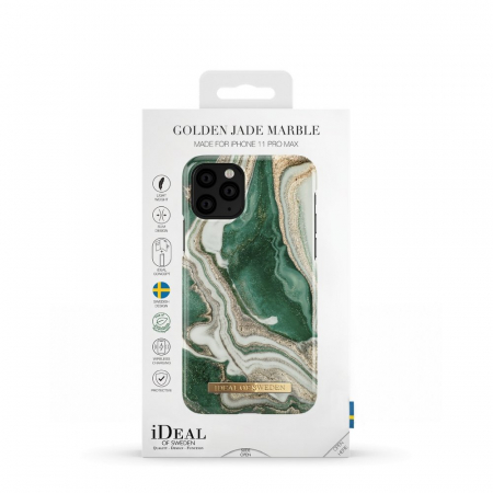 HUSA IDEAL OF SWEDEN iPhone 11 Pro Max Golden Jade Marble2