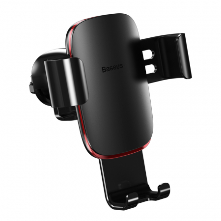 Baseus Metal Age Gravity Car Mount Phone Holder for Air Outlet black (SUYL-D01)1