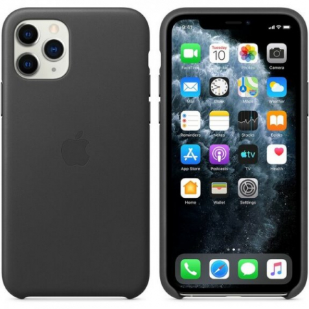 Husa Apple Leather Case IPhone 11 Pro Max [2]