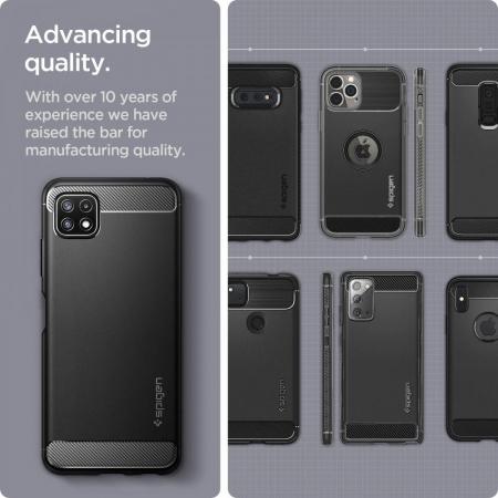 Husa Spigen Rugged Armor Samsung Galaxy A22 5g [5]
