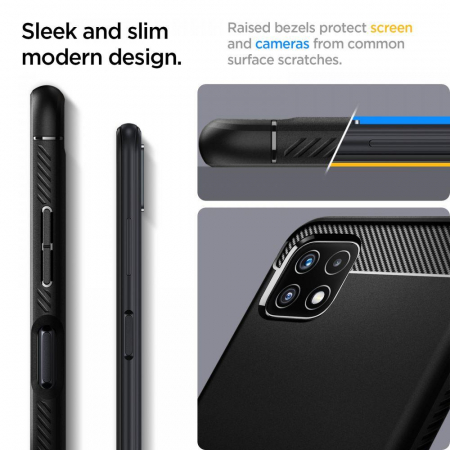 Husa Spigen Rugged Armor Samsung Galaxy A22 5g [4]