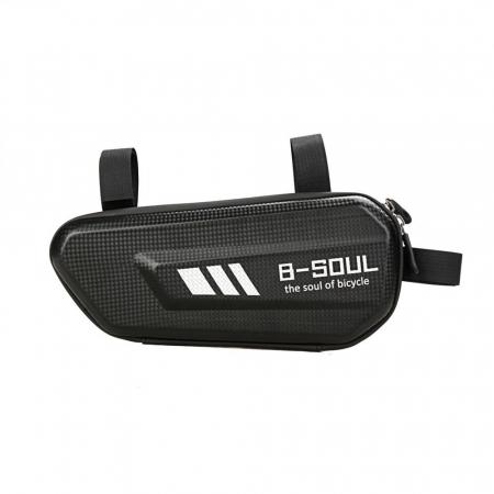 Geanta bicicleta B-Soul pentru cadru  1.5 L black0