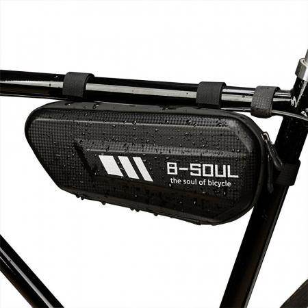 Geanta bicicleta B-Soul pentru cadru  1.5 L black6