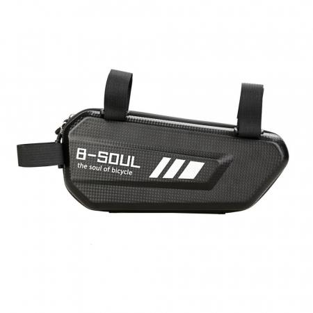 Geanta bicicleta B-Soul pentru cadru  1.5 L black2