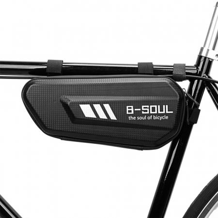 Geanta bicicleta B-Soul pentru cadru  1.5 L black3