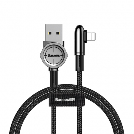 Cablu date/incarcare Baseus Mobile Game lightning 1m 2.4 A [0]