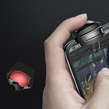 Grip-uri Baseus Level 3 Helmet PUBG Extra Buttons Camouflage blue (GMGA03-A03)8