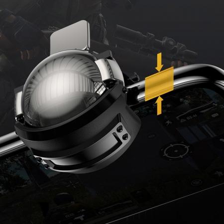 Grip-uri Baseus Level 3 Helmet PUBG Extra Buttons Camouflage blue (GMGA03-A03)4