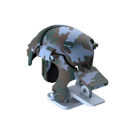 Grip-uri Baseus Level 3 Helmet PUBG Extra Buttons Camouflage blue (GMGA03-A03)1